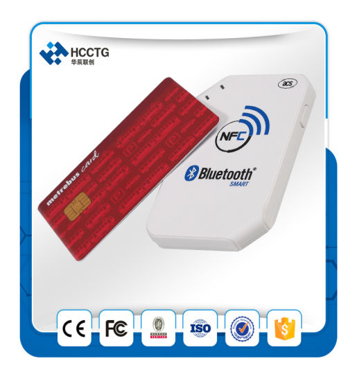 Portable Contactless Bluetooth RFID Android Handheld NFC Smart Card Reader Writer ACR1255 pictures & photos