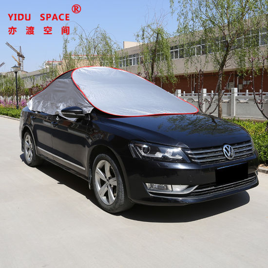 Wholesale Universal UV Protection Sunproof Windscreen Folding Automatic Car Cover