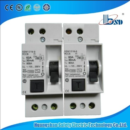2pole RCCB 5sm1 Type Residual Current Device RCD, Siemens RCCB pictures & photos
