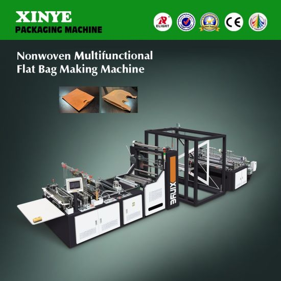 Xy-600 Fully Automatic Non Woven Fabric Shopping Bag Making Machine pictures & photos