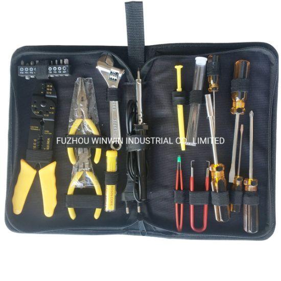 Soldering Iron 25 Pcs Electronic Tool Kit//Set–DIY Cable Stripper Screwdrivers