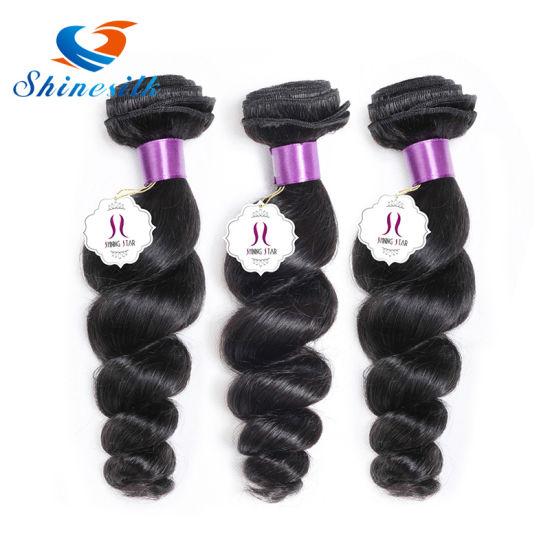 Peruvian Loose Wave Virgin Hair Bundles Deals Human Hair Weave