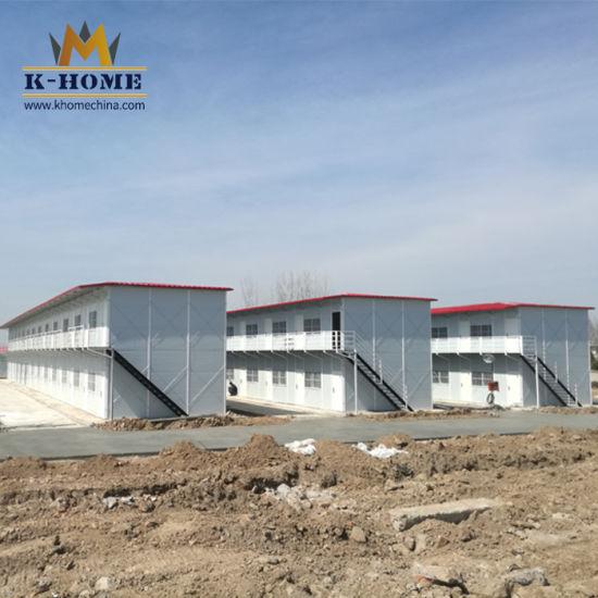 China Fire Retardant Foam EPS Sandwich Panel Prefab House