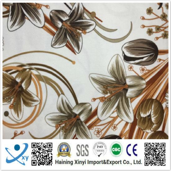 New Design Customized Patterns Silk Chiffon Polyester Digital Printing Fabric