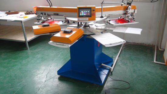 Single / Double Colour Automatic Screen Printing Machine pictures & photos