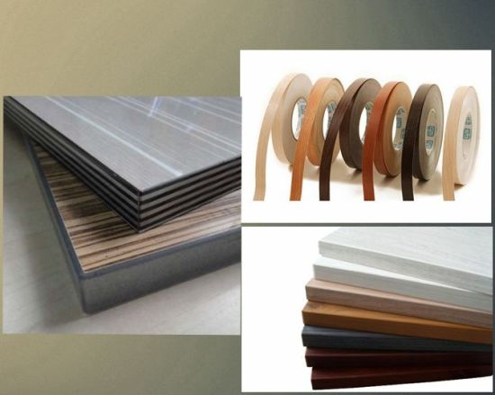 Plastic and Veneer Board Edge Bander Wood Based Panel Machine pictures & photos