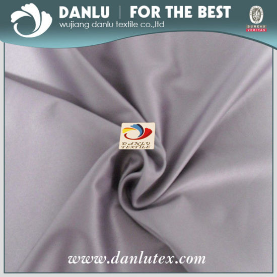 Full Dull /Fd DTY Spandex Span Satin for Garment, Upholstery pictures & photos
