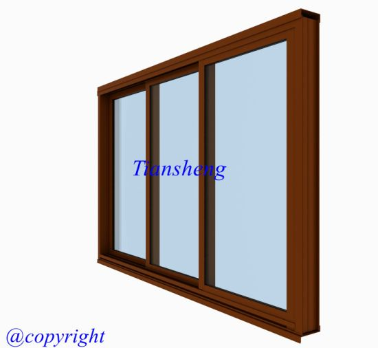 Australia Standard Aluminum Sliding Window with Crimsafe Flyscreen pictures & photos