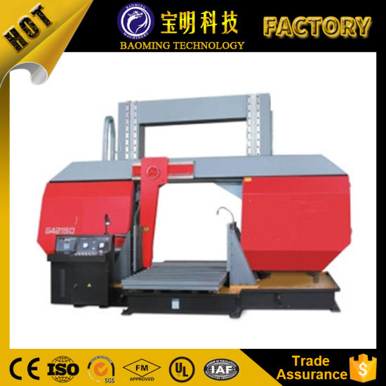 G4028 Metal Band Saw Machine Adjustable Angle Horizontal Sawing Machine