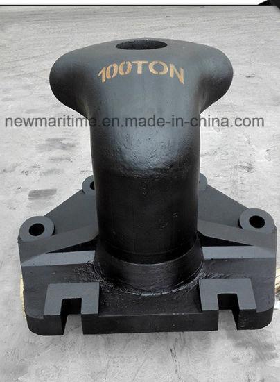 Marine Boat Cast Steel Mooring Tee Head Bollard