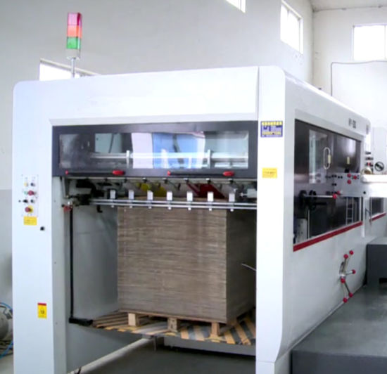 High Quality Semi Automatic Box Machine Die Cutter pictures & photos