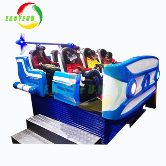 ee11584ce47 Virtual Reality Simulator Dynamic Effect Chair 9d Vr Cinema Amusement  Playground Equipment for Sale
