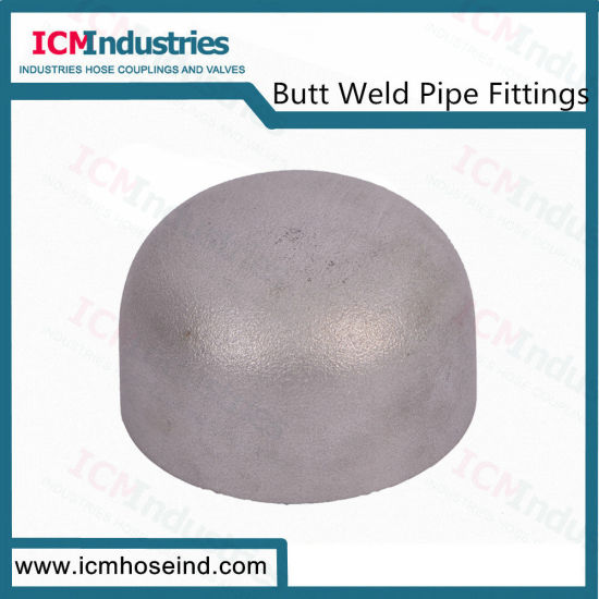 Butt Weld Stainles Steel Seamless Cap Pipe Fittings