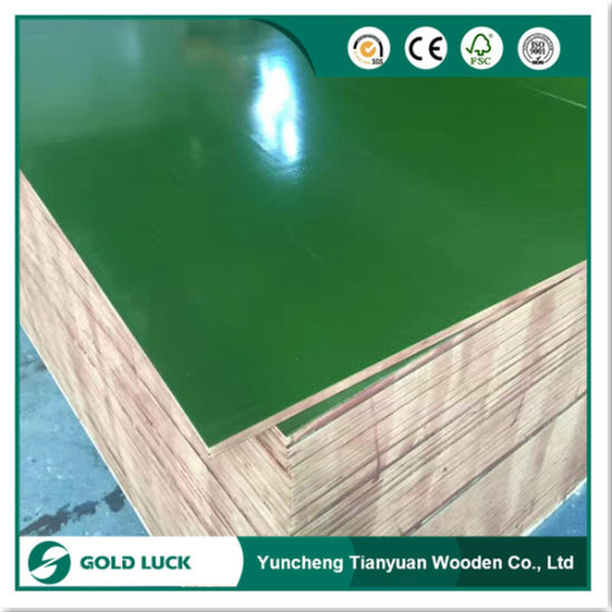 Full Eucalyptus Core Plastic Coated Plywood pictures & photos