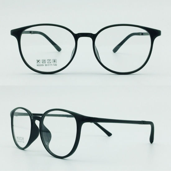 Half Plastic Steel Optical Frames pictures & photos