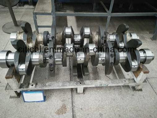 Alloy Steel Auto/Car Accessories Engine Crankshaft Parts From China