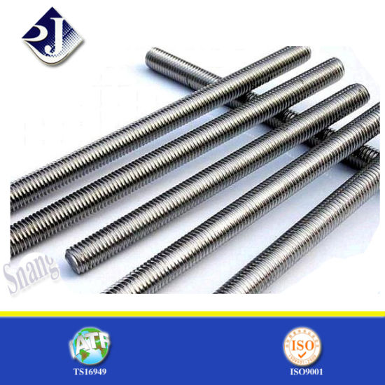 China Stainless Steel Grade A2 A4 Threaded Rod - China