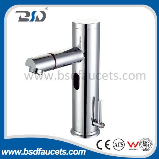 Hands Free Automatic Sensor Basin Mixer Water Tap Bathroom Faucet