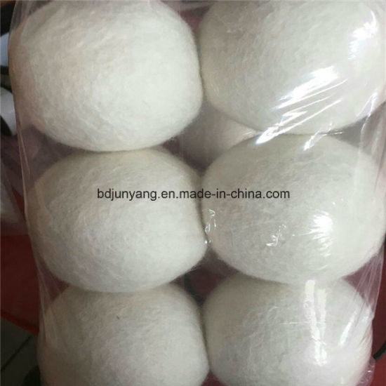 Durable in Use High Quality 100% Wool Felt Dryer Balls for Laundry pictures & photos