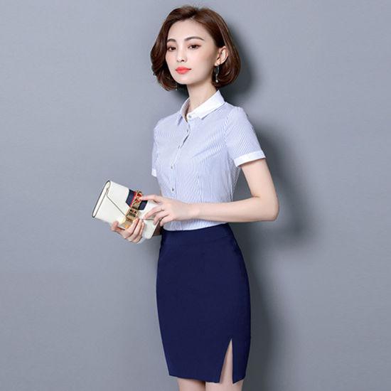 Office Lady Uniform Skirt Shirt Suit