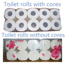 High Speed Automatic Toilet Paper Converting Line pictures & photos