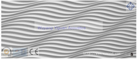 Eco-Friendly 3D Wood Carved Decorative Wall Panel (08WSCSWP15)