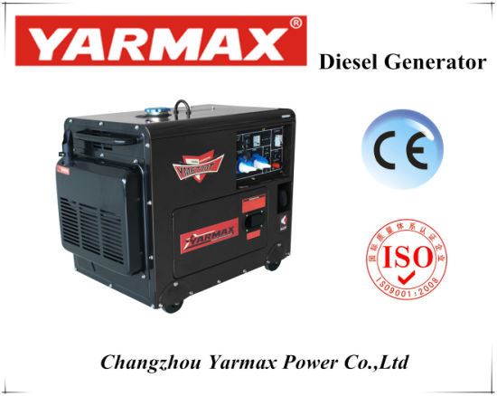 5kVA Air Cooled Diesel Generator Silent Type pictures & photos