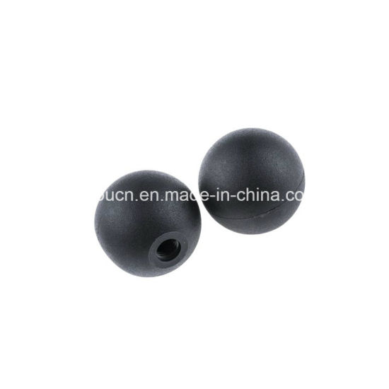 OEM Round Hard Solid Silicone Rubber Vibration Mesh Cleaning Ball / Bumper Ball pictures & photos