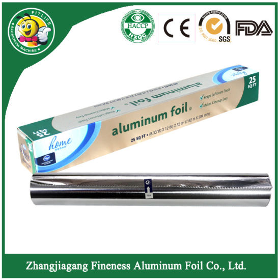 Household High Quality Aluminum Foil Roll pictures & photos