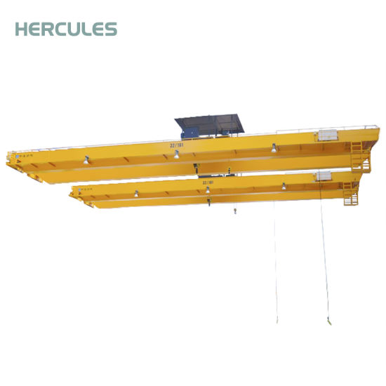 China Construction Machinery Electric Foundry Double Beam Overhead Crane pictures & photos