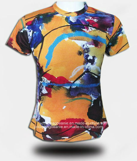 Wholesale 3D Printed Personalized Custom Tshirt pictures & photos