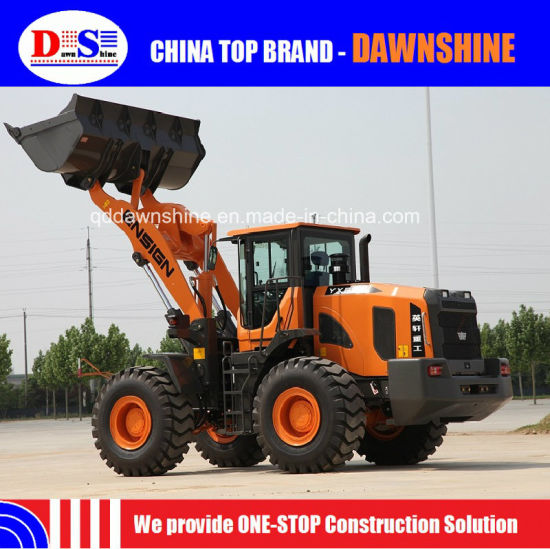 Ensign Large 5 Ton Loader China Wheel Loader for Construction pictures & photos