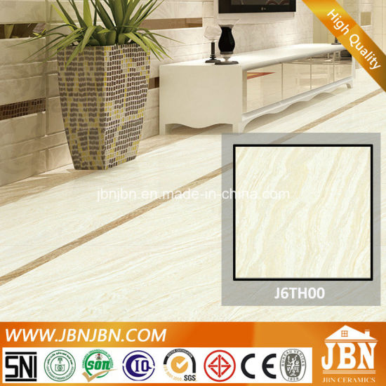 Porcelanato Polished Double Loading Travertino Tile (J6TH00)