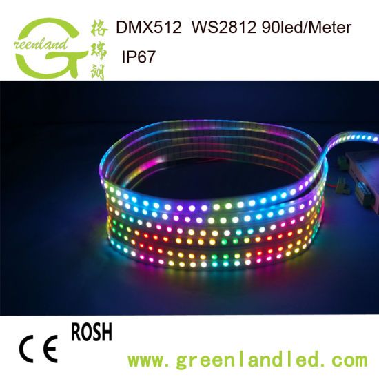 China factory wholesale price rgb full color 12v dc addressable led factory wholesale price rgb full color 12v dc addressable led strip with ce rohs approval aloadofball