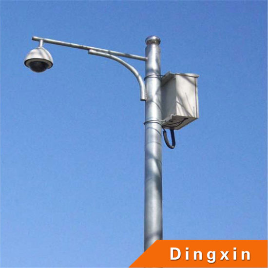 Light Pole Terminology: China CCTV Camera 5m Pole With Brackets (DXTLP-034