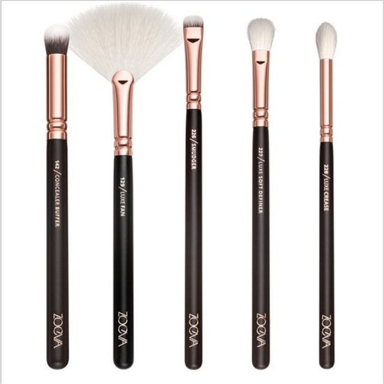 Zoeva Golden Makeup Brush Set High Quality Brush with Bag pictures & photos
