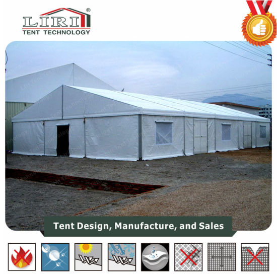 brand new 4a35f 98d5d High Quality Aluminum Used Tents with Plain White PVC Roof Covers and  Sidewalls for Hajj