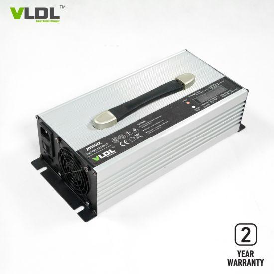 12V 100A LiFePO4 / Li-ion Battery Charger, LCD Charging Status Display