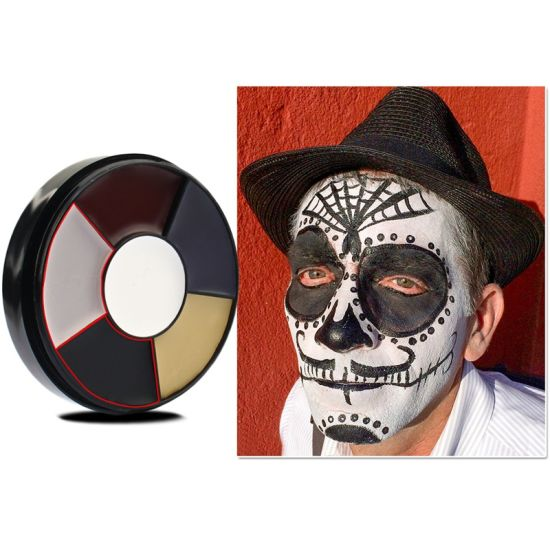 Christmas Halloween Makeup.China 6 Colors Face Paint Kit Halloween Makeup Body Paint