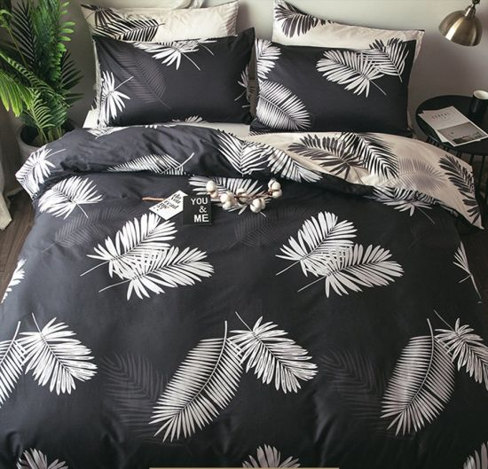 Hot Sale 100% Cotton Reactive Printing Soft Twill Fabric Duvet Cover Set pictures & photos