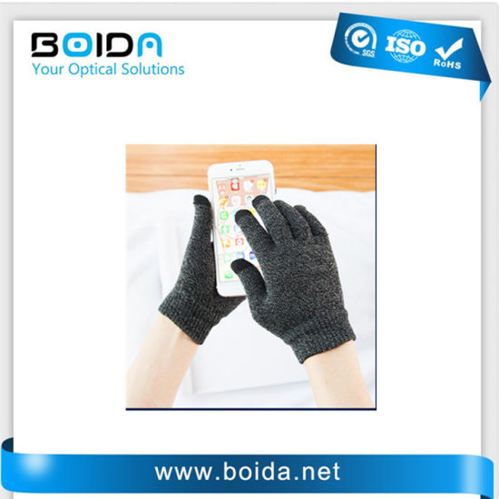 Promotional Cell Phone iPad Knitted Touch Screen Glove (TG80012) pictures & photos