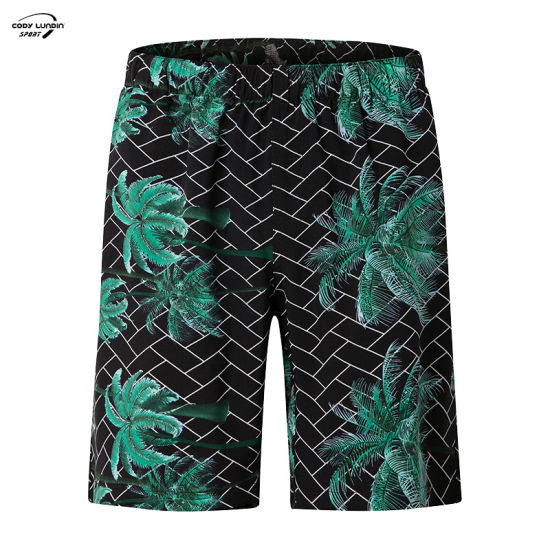 Cody Lundin Men Casual Solid Striped Shorts High Quality Leisure Breathable Summer Beach Shorts