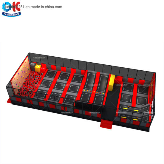 Ok Playground Sport Gymnastic Indoor Trampoline for Children