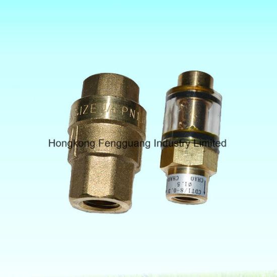 Screw Air Compressor Check Valve Brass Non Return Valve