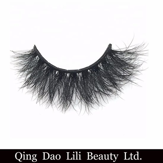 bb16c024f5 Wholesale Private Label Eye Lashes 25mm 3D Mink Eyelashes Band Mink Lashes  Vendor pictures & photos
