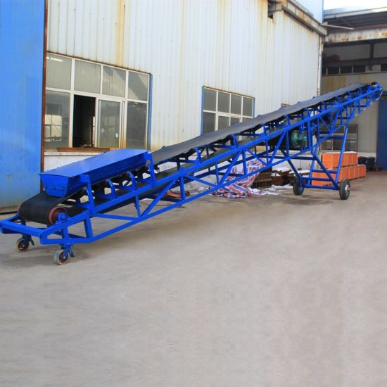 China Portable Conveyor Belt Systems Are The Ideal Choice for Moving
