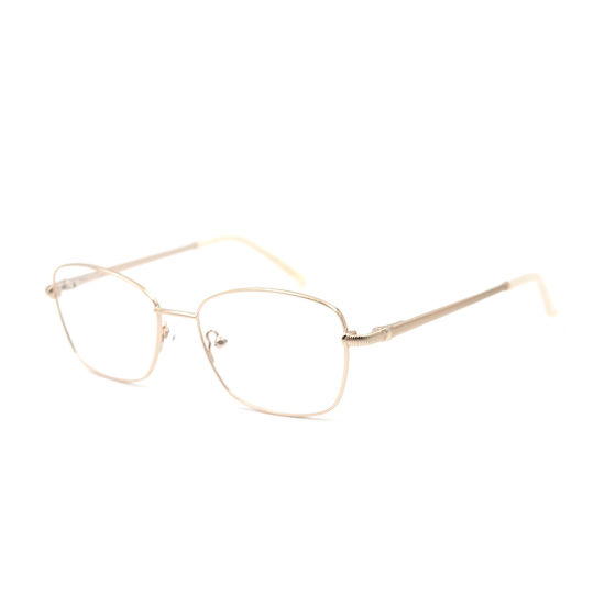 Promotion Simple Metal Optical Frame for Men and Women China Wholesale Custom Logo