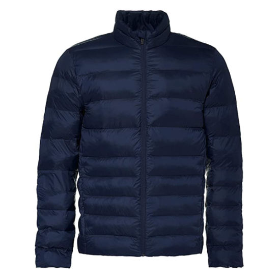 Mens Quilted Jacket All Weather Jacket with Asymmetric Quilting, Ideal Against Wind and Cold, Outdoor Clothing for Men, Size M - 3XL