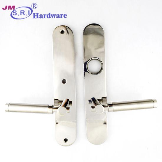 SUS/Zamak Luxury Door Handle on Plate with Patent