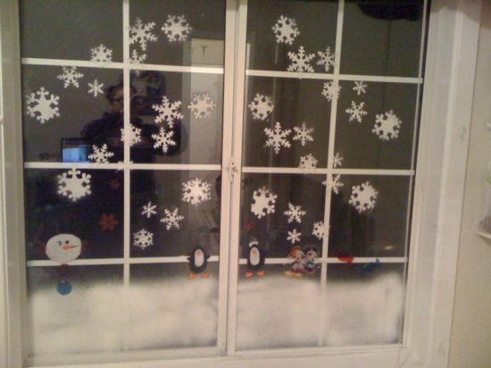 Tree Holiday Winter Fake Crafts Winter Party Snow Spray